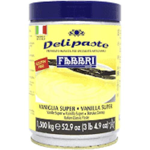 Vaniglia Super  Delipaste (Pasta de baunilha ) 1,5kg Fabbri