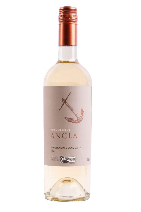 Vinho Ancla Gran Reserva Sauvignon Blanc Organico 750ml