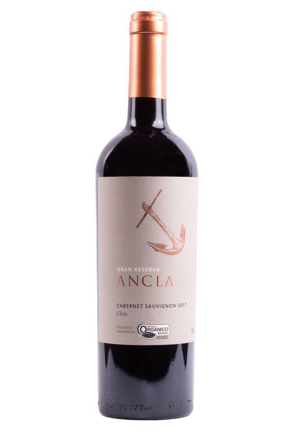 Vinho Gran Reserva Cabernet Sauvignon Organico 750ml Ancla
