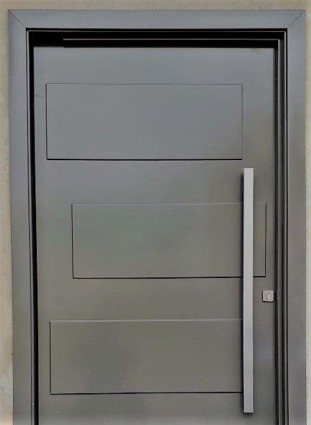 Kit porta de entrada pivotante modelo Cancun - Connect Portas
