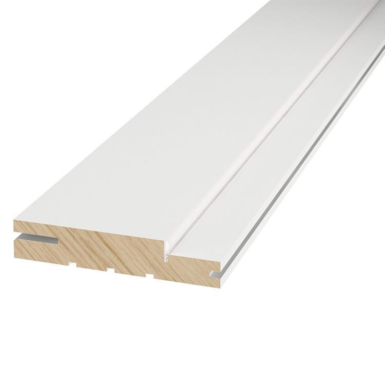 Kit porta frisada fundo primer branco - Connect Portas