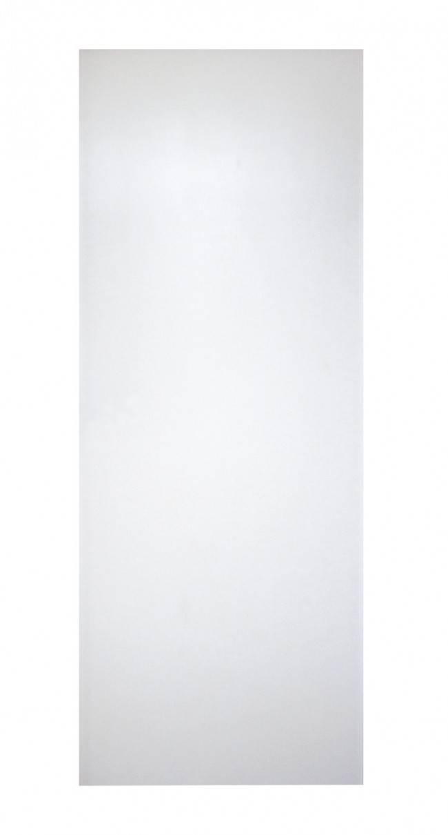 Porta  lisa melamínica branca semi-sólida  - Randa