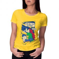 Camiseta Love Will Tear Us Apart - X-men