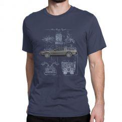 Camiseta Time Travel Project - De volta para o futuro