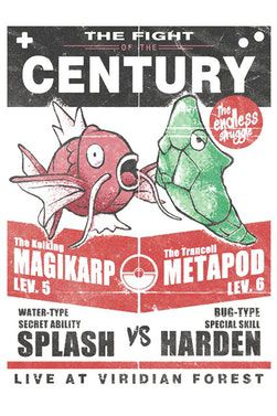 Camiseta A Batalha Do Século - Pokémon