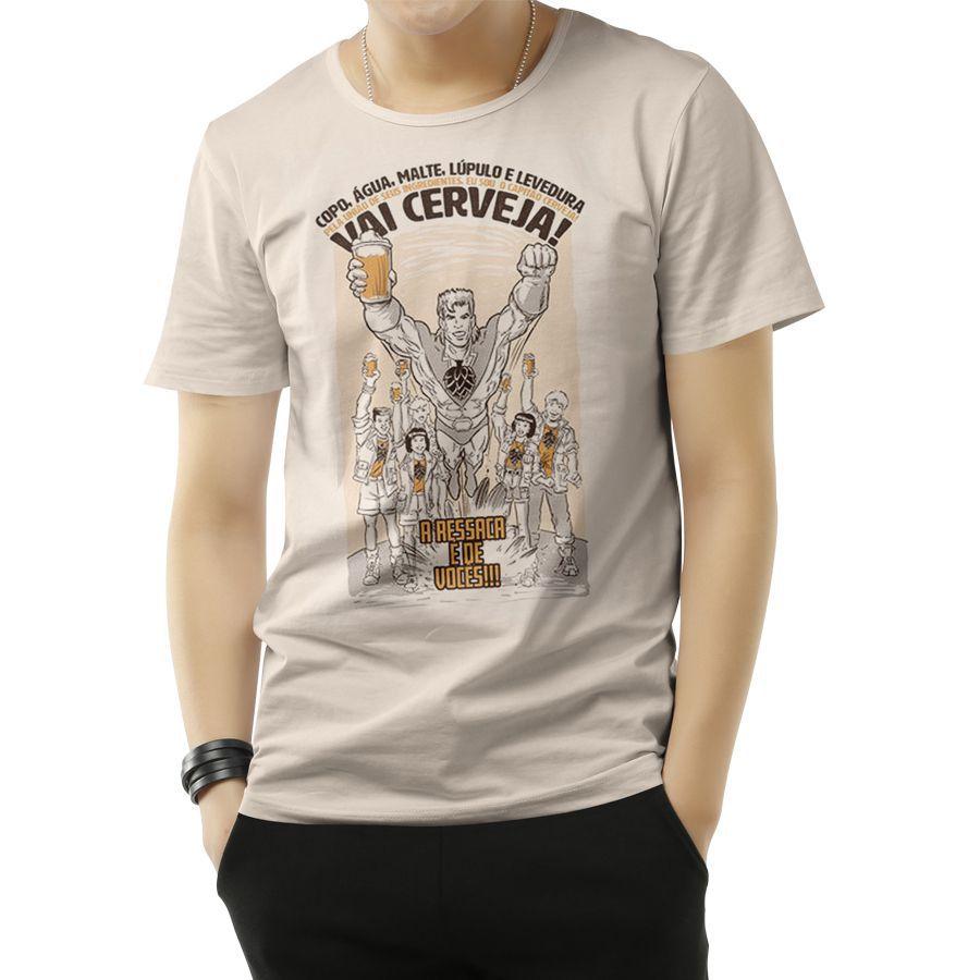 Camiseta Capitão Cerveja