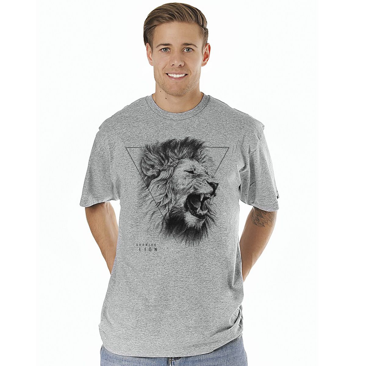 Camiseta Drawing Lion