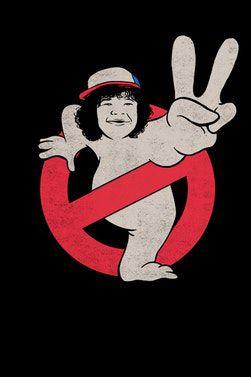Camiseta Dustinbusters - Stranger Things