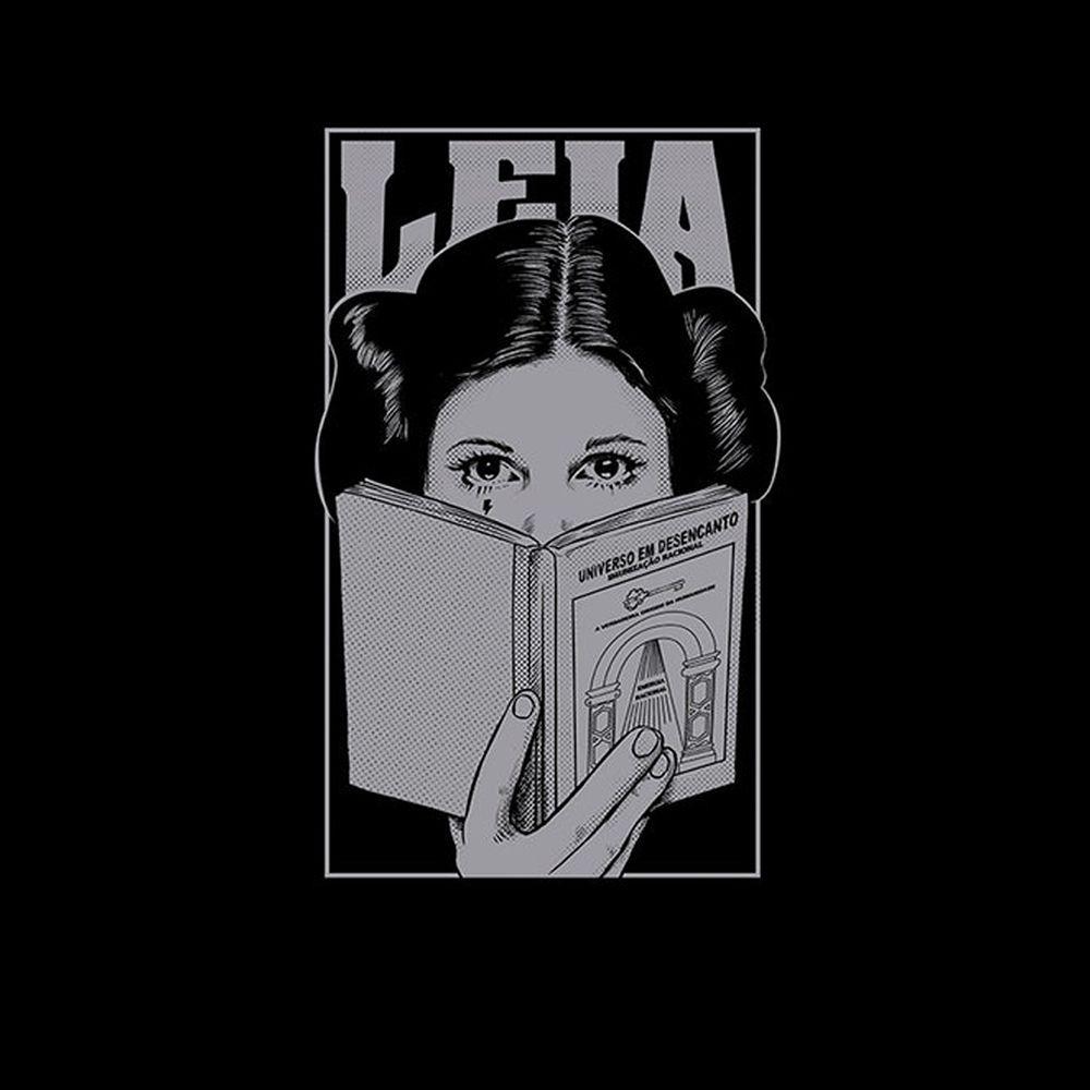 Camiseta Leia