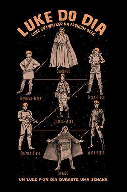 Camiseta Luke Do Dia - Star Wars