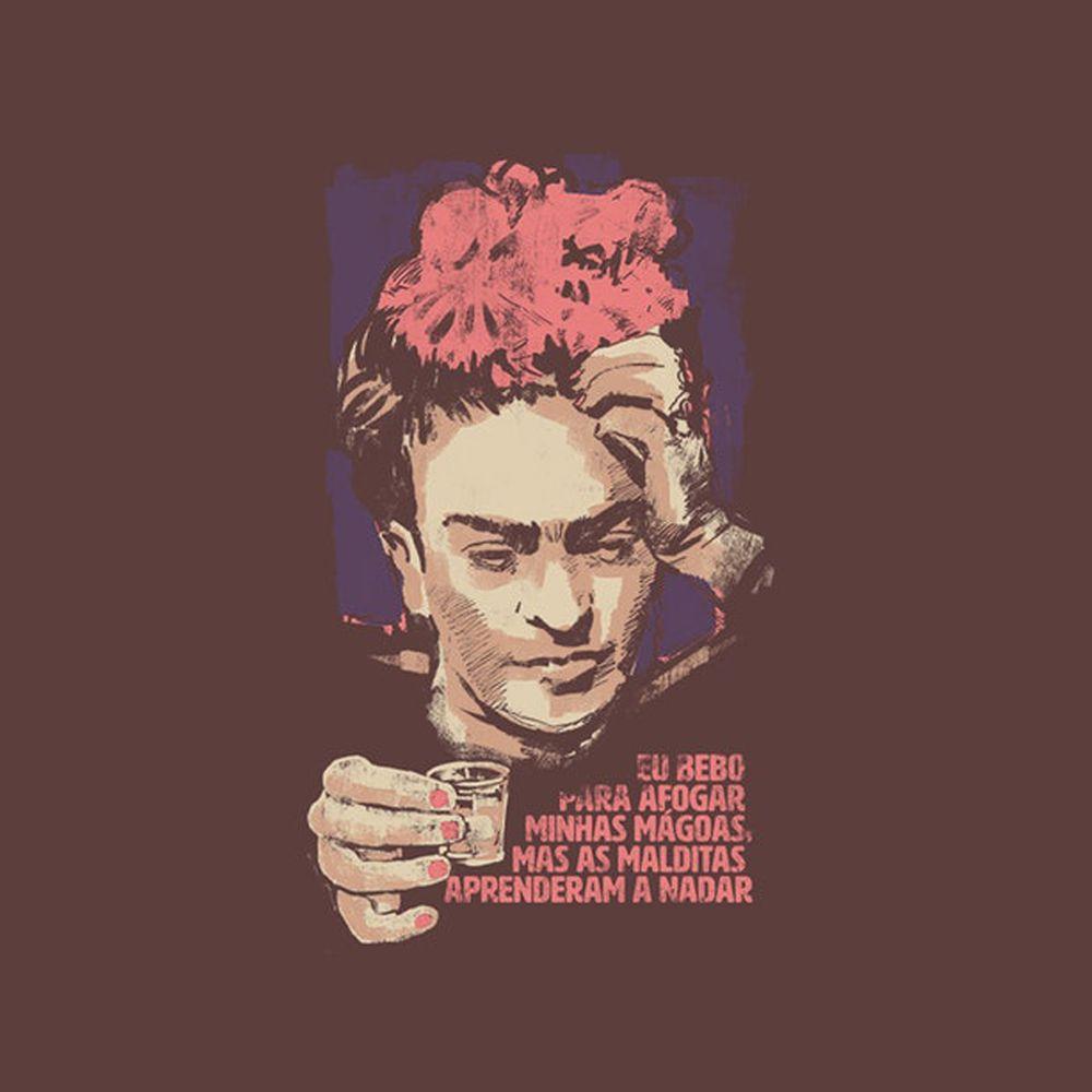 Camiseta Mágoas - Frida Kahlo