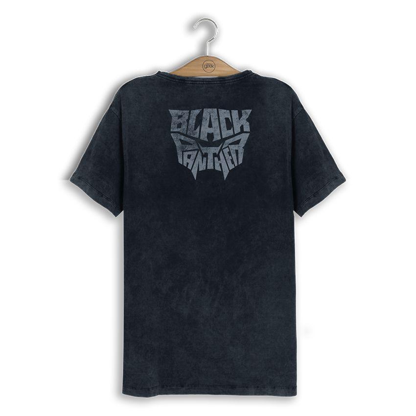 Camiseta Marvel Pantera Negra Máscara