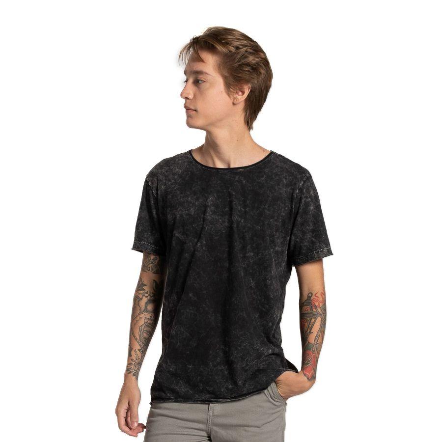 Camiseta Premium Corte a fio Sky