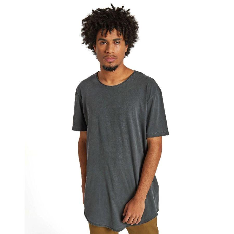 Camiseta Premium Longline Stone