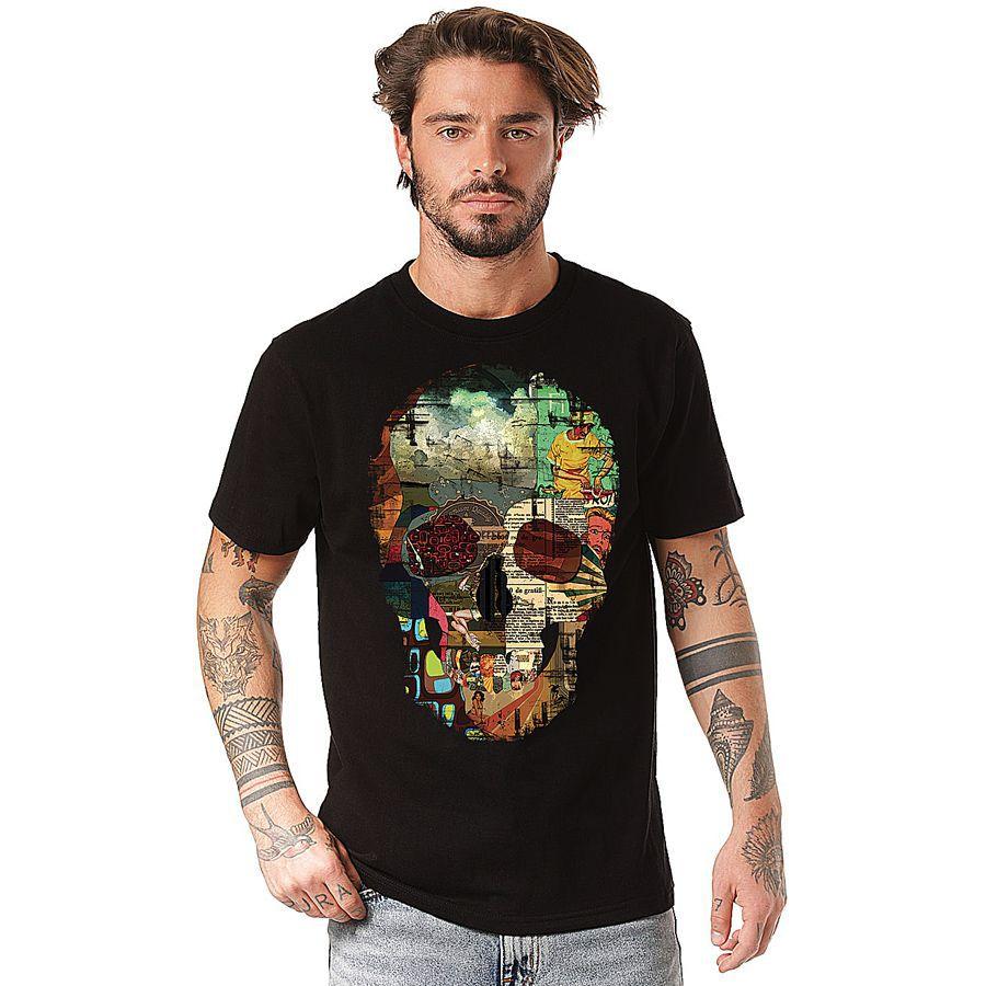 Camiseta Retroskull