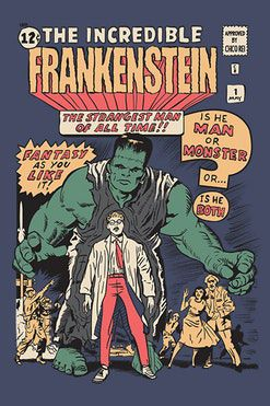 Camiseta The Incredible - Frankenstein