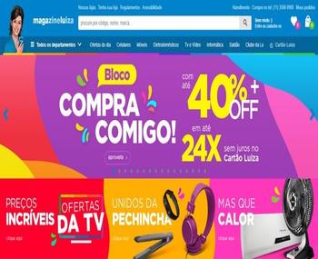 compre com todo conforto e segurança na maior loja do brasil