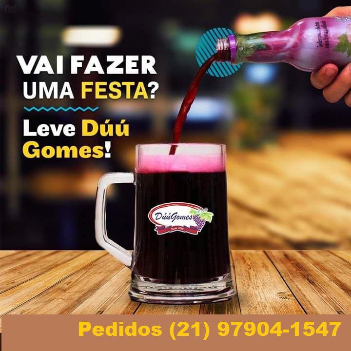 Chopp de Vinho Duu Gomes Pack c/06 Unid