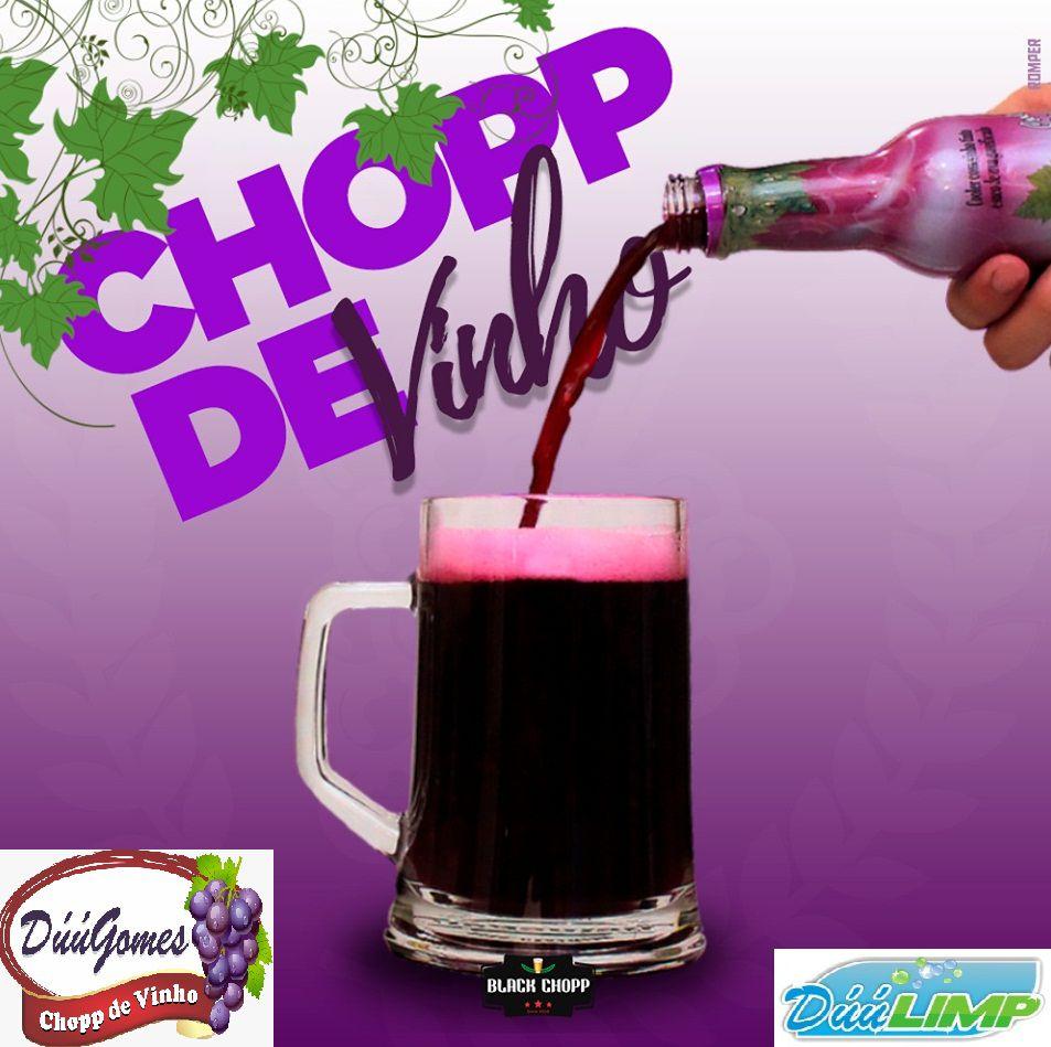 Chopp de Vinho Duu Gomes Pack c/12 Und SOMENTE ATACADO