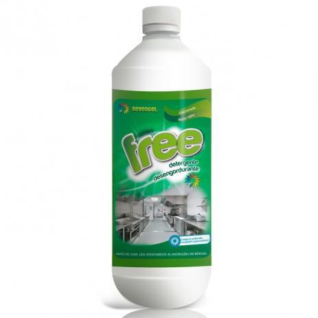 Detergente Desengordurante Free 1l Sevengel