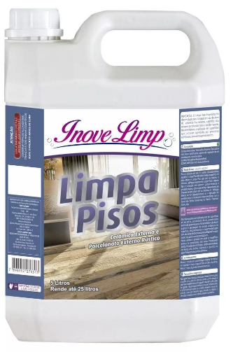 Limpa Piso Inovelimp 5 Lts - Cerâmica Externa E Porc. Rústic