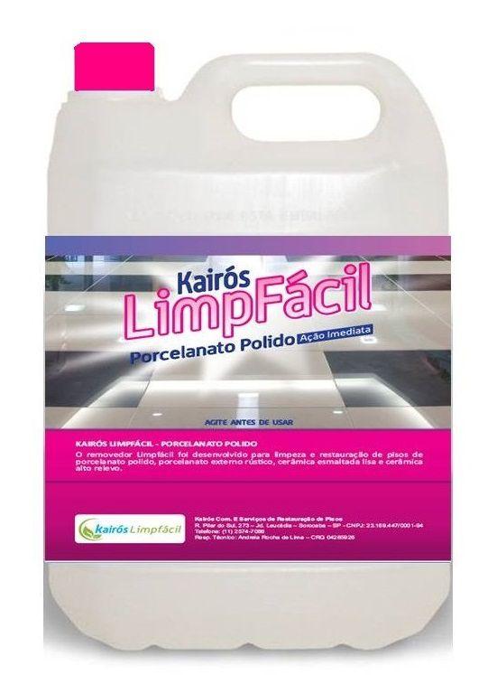 Poderoso Removedor Instantâneo para limpeza de piso  Porcelanato Polido e Alto Brilho Galão de 5 LTS