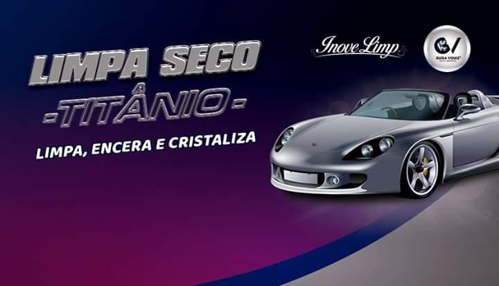 LIMPA SECO TITÂNIO INOVELIMP Limpa - Encera - Cristaliza