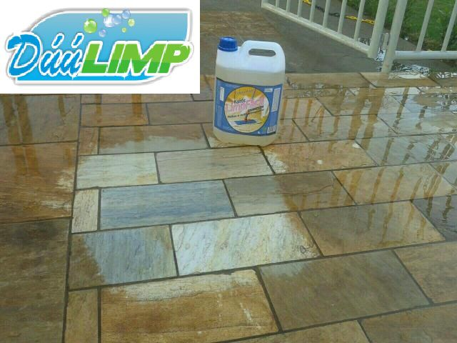 Poderoso Removedor Instantâneo para limpeza de piso Antiderrapante 5 Lts