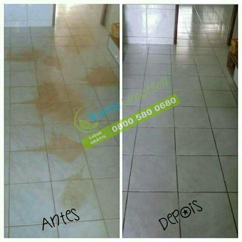 Poderoso Removedor Instantâneo para limpeza de piso Cerâmico e Porcelanato Fosco 5 Lts