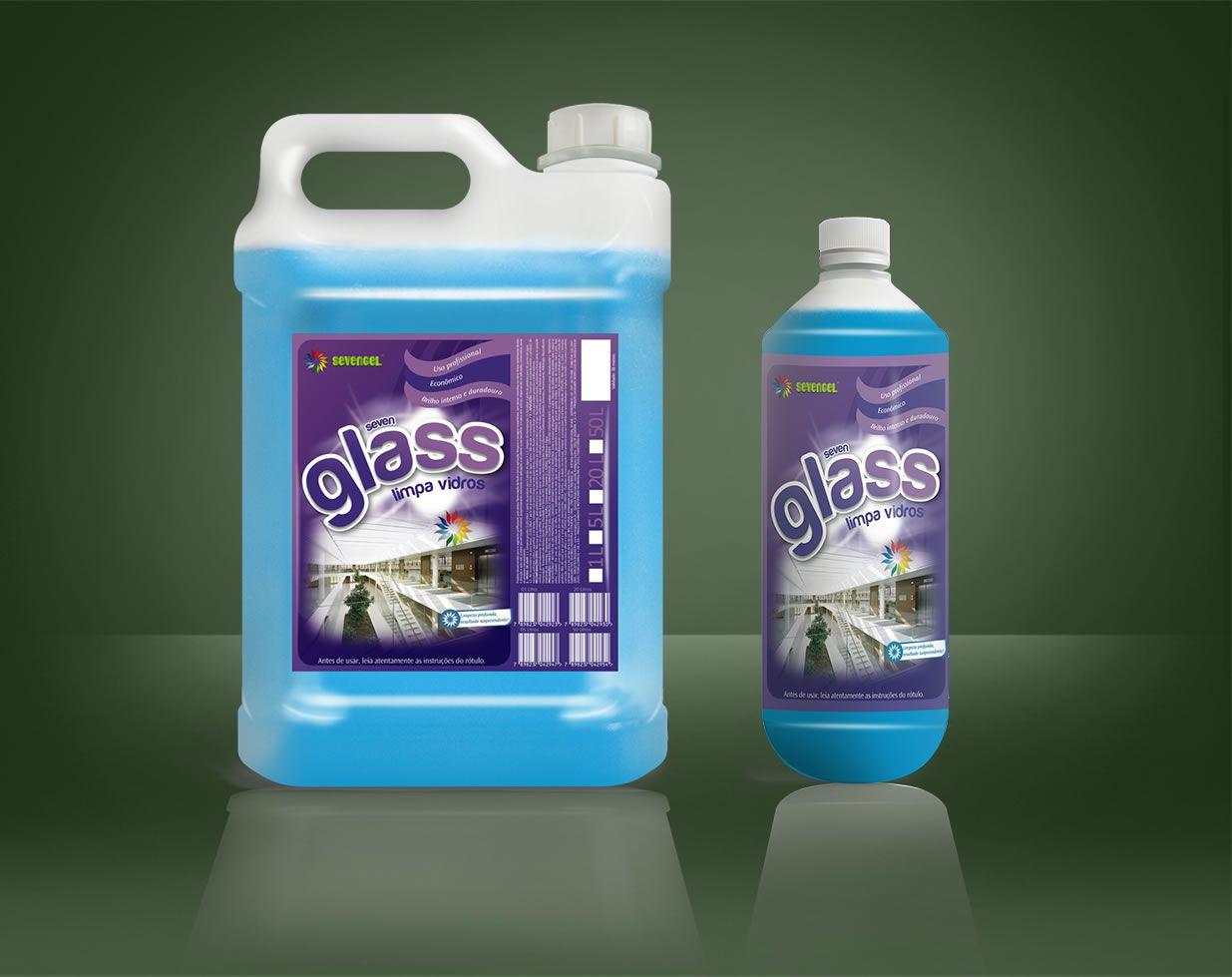 Seven Glass Limpa-Vidros 1 Lt