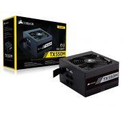 Fonte 80Plus Gold Corsair TX-M 550W Atx Pfc Ativo Semi-Modul