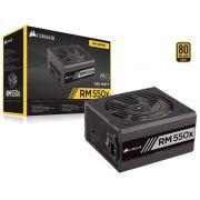 Fonte 80Plus Gold Rmx 550W Atx Pfc Ativo Bivolt Modular