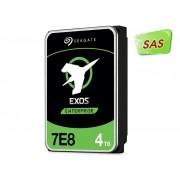 Hdd 3,5 Exos P/ Servidor Seagate 4T 7200RPM 128Mb Sas 12Gb/s