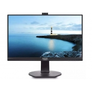 Monitor Led 23,8 Philips Full Hd C/Webcam Microfone Vga Hdmi
