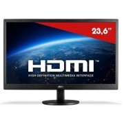 Monitor Led 23 Aoc 1920x1080 Full Hd Wide-Vga-Hdmi Preto