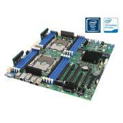 Placa Mae Servidor Intel Dual Xeon Ddr4 LGA3647