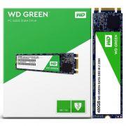 Ssd WD 480Gb Green M.2 2280 Sata3 Wds480g2g0b