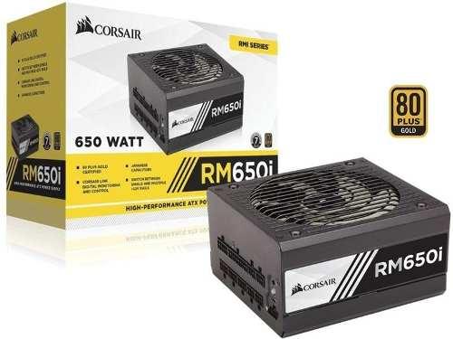 Fonte 80Plus Gold Corsair Rmi 650W Digital Pfc Ativo Bivolt