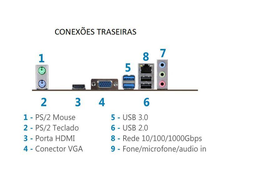 Computador Eliteline Core I7-7700 8Gb Ddr4 Ssd 120Gb Linux