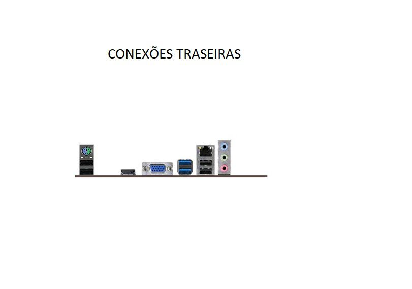 Computador Fasttop Core I3-9100F 4G Ddr4 Ssd120Gb W10 Profi
