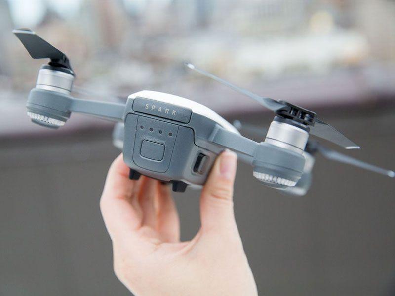Drone Dji Spark Fly More Combo White Alpine C/ Radio control