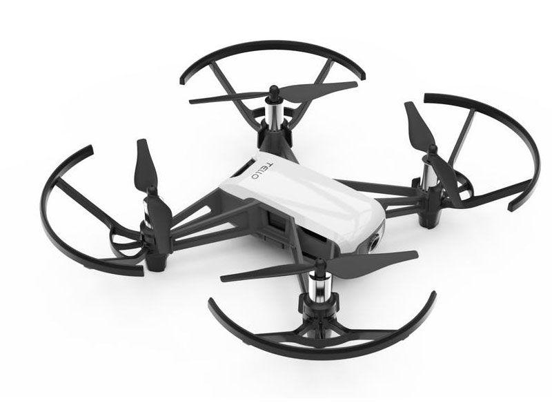 Drone Dji Tello Boost  Combo Arctic White C/ Radio Controle