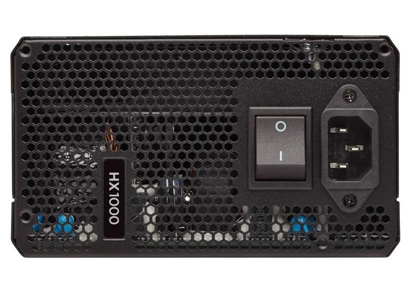 Fonte 80 Plus Platinum Corsair Hx1000W Atx Pfc Ativo Modular