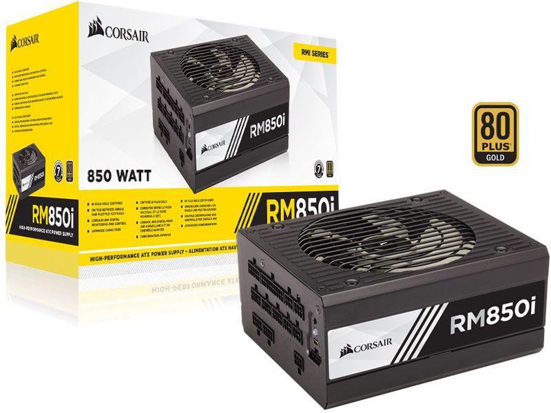 Fonte 80Plus Gold Corsair Rmi 850W Digital Pfc Ativo Bivolt