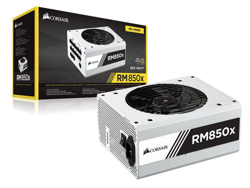 Fonte 80Plus Gold Corsair Rmx 850W Atx Pfc Ativo Modular