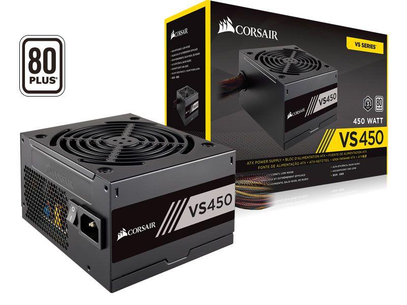 Fonte 80Plus White Vs450 Atx 450W Pfc Ativo Bivolt Automatic