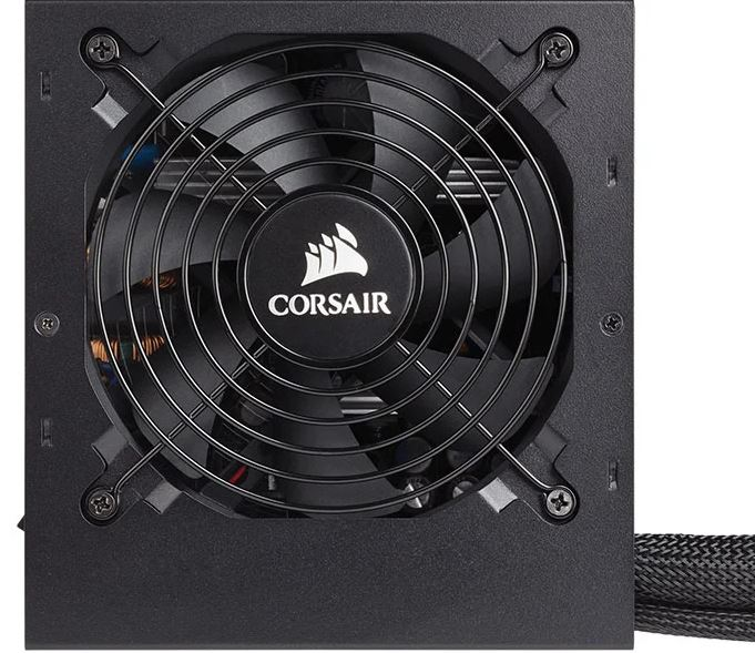 Fonte Corsair 80 Plus Bronze CX550 Pfc Ativo 550W C/ Cabo