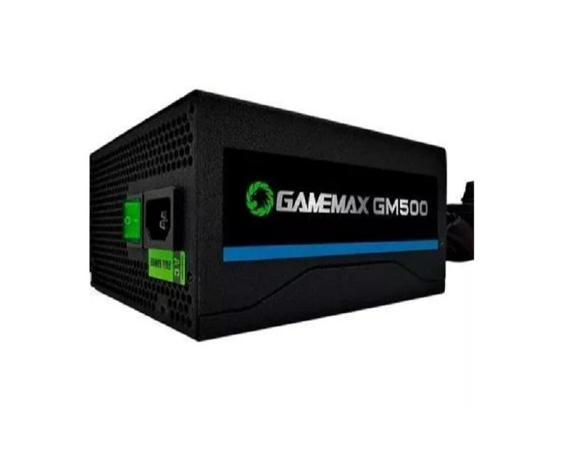Fonte Gamer Gamemax 500w Atx 80 Plus Bronze GM500 24p OEM