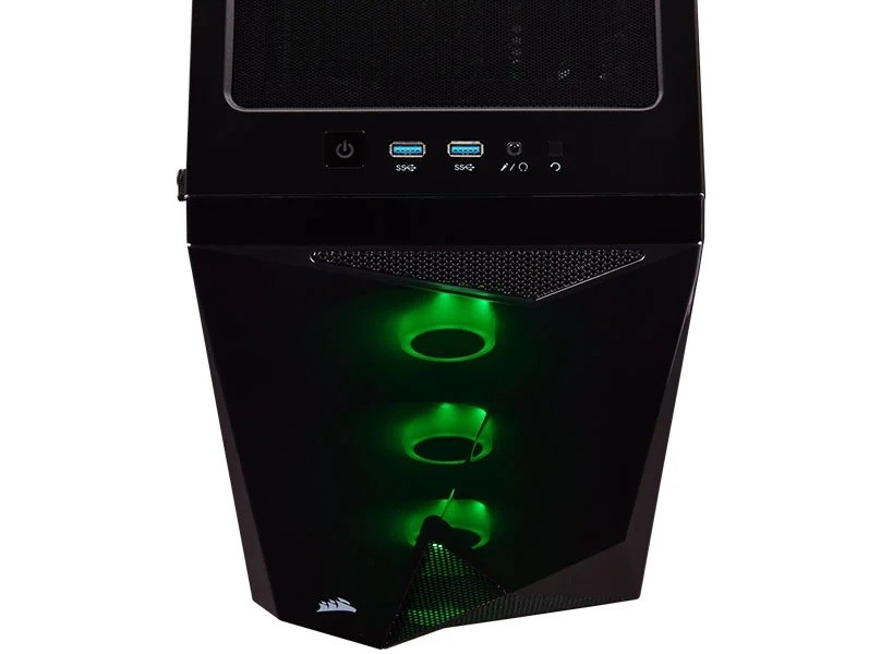 Gabinete Gamer Corsair Carbine Series Spec Delta C/3Fans Rgb