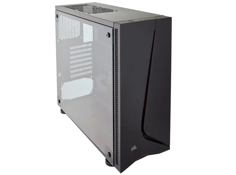 Gabinete Gamer corsair Carbide Spec-05 Preto Lateral Acrílic